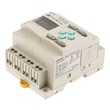 CONTROLADOR LOGICO 6E/4S 220V RELE LCD
