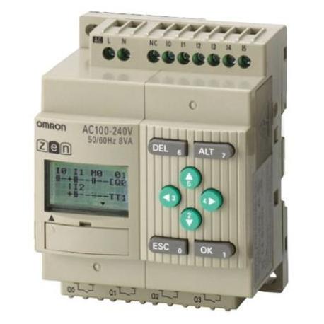 CONTROLADOR LOGIC.6E/4S 12-24DC RELE LED