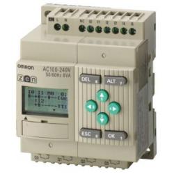 CPU 12/8 ENT. AC SAL. RELE LCD RTC 240AC
