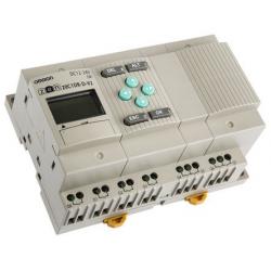 CPU 12/8 ENT. SAL.RELE LCD RTC 12-24DC