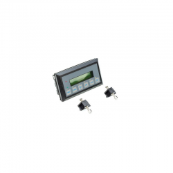 TERMINAL LCD 2X16 RS232 6TEC.RELOJ